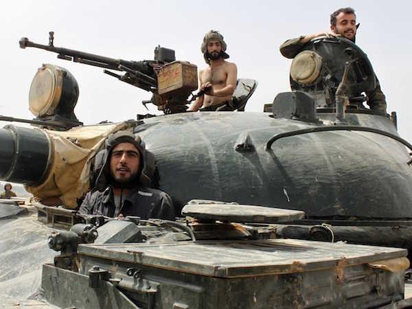 Quân đội Syria vẫn chiến đấu chống khủng bố không ngừng nghỉ