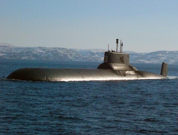 Akula là lớp tàu ngầm lớn nhất thế giới