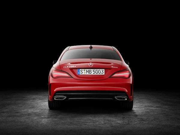 Mercedes-Benz CLA xuất hiện với thiết kế bắt mắt