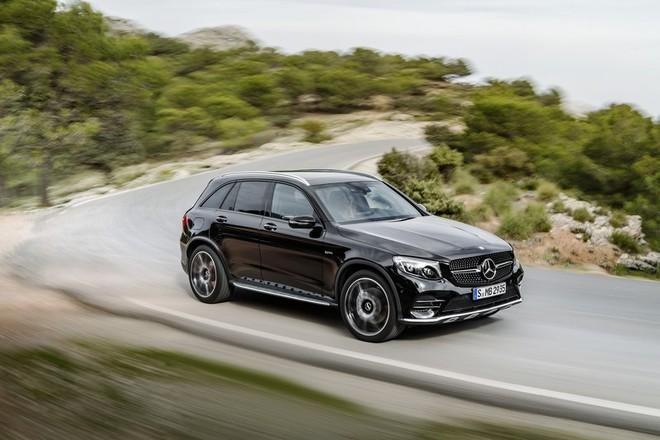 Mercedes-AMG GLC43: Thể thao và sang trọng ảnh 5