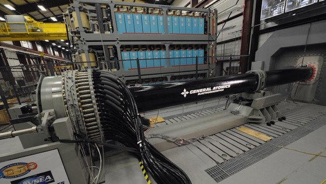 Súng điện từ (railgun) của General Atomics