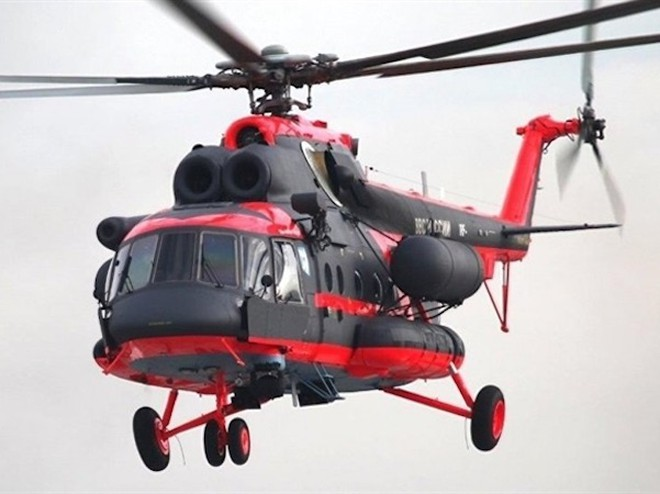 Mi-8AAMTSh-AV có khả năng chịu được sự khắc nghiệt ở môi trường Bắc Cực