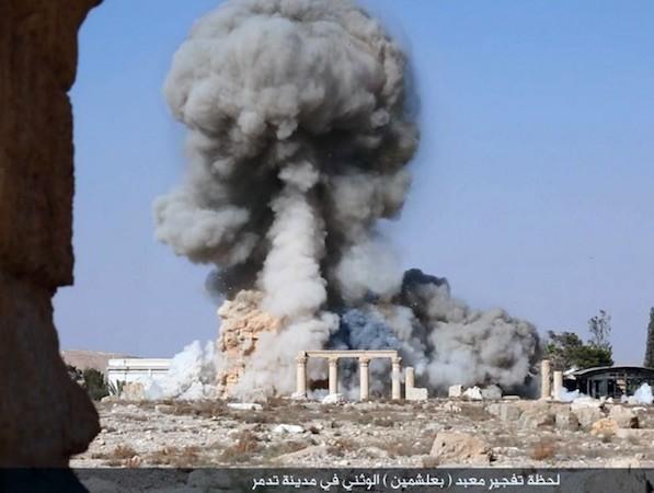 Thành phố Palmyra có ý nghĩa quan trọng với IS và quân đội Syria