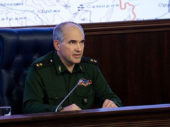 Cục trưởng Cục tác chiến Bộ tổng Tham mưu Nga, Trung tướng Sergei Rudskoi