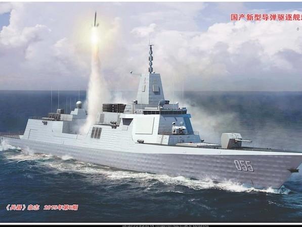 Hiện có rất ít thông tin về chiến hạm Type 055 (Hình minh hoạ)