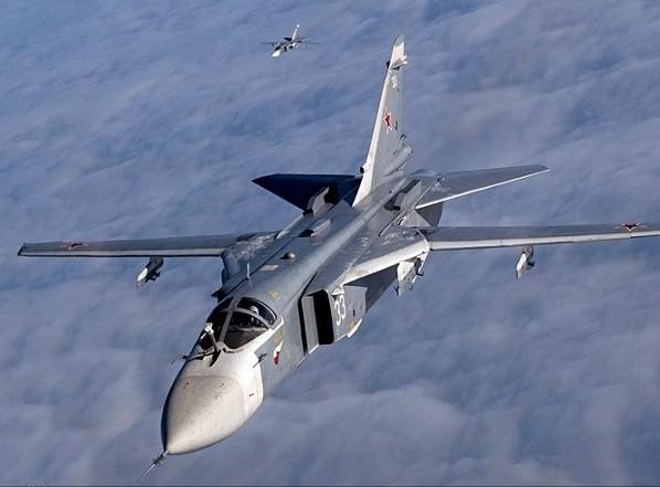 Máy bay cường kích Su-24