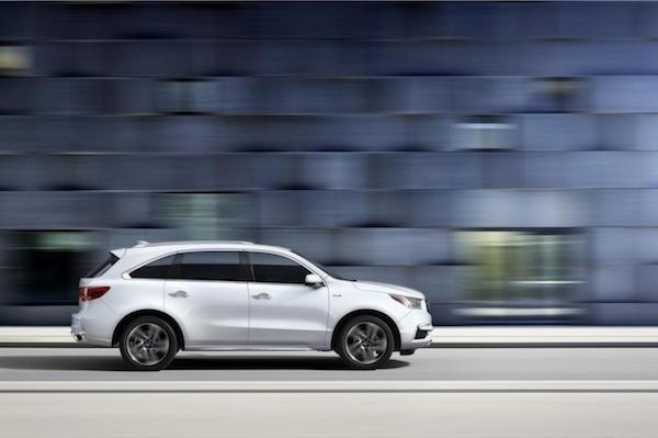 Acura MDX 2017: Bóng bẩy hơn, thêm lựa chọn về động cơ