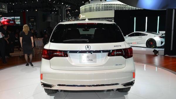 Acura MDX 2017: Bóng bẩy hơn, thêm lựa chọn về động cơ ảnh 3