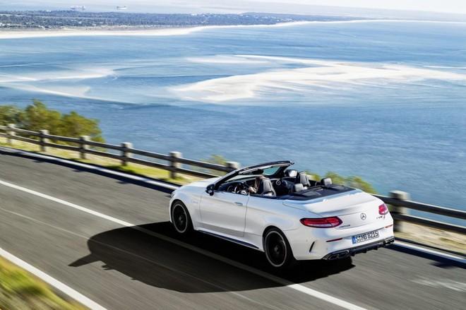 Mercedes-Benz trình làng cặp đôi mui trần C-63 và C63 S
