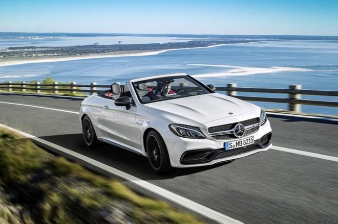 Mercedes C63 không có nhiều khác biệt với mẫu coupe