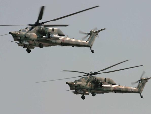 """Mi-28N của Nga còn có biệt danh là """"thợ săn bóng đêm"""""""