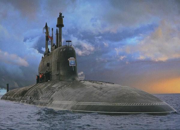 Tàu ngầm Dự án 855 lớp Yasen đầu tiên, có tên K-329 Severodvinsk
