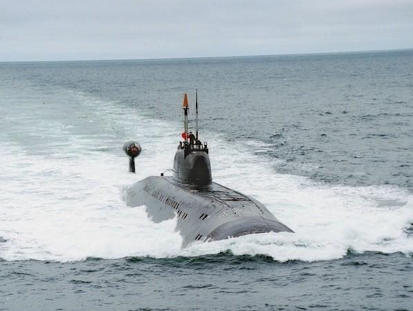 Ấn Độ đang thuê một tàu ngầm lớp Akula của Nga