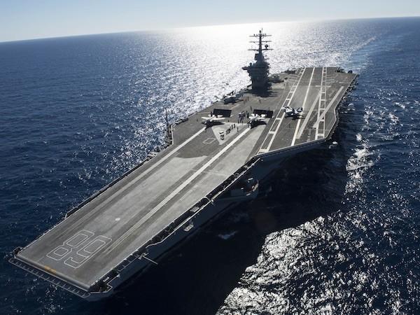 USS Gerald R. Ford sẽ là tàu sân bay đắt và lớn nhất thế giới