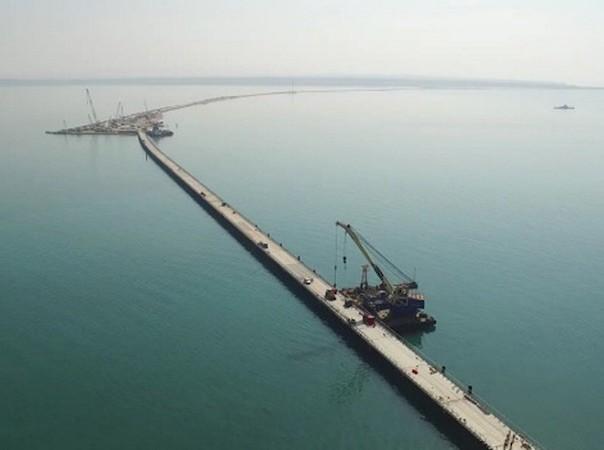 Nga sẽ không hoàn thành được cây cầu kết nối với Crimea theo đúng kế hoạch
