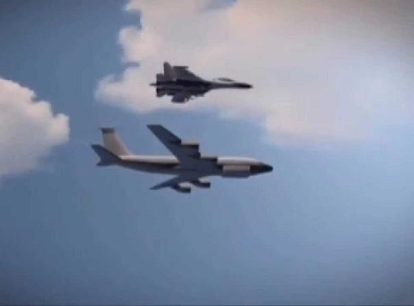 Mỹ khẳng định khoảng cách giữa Su-27 và RC-135 chỉ là 8m