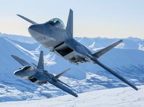 Chiến đấu cơ F-22 của Mỹ