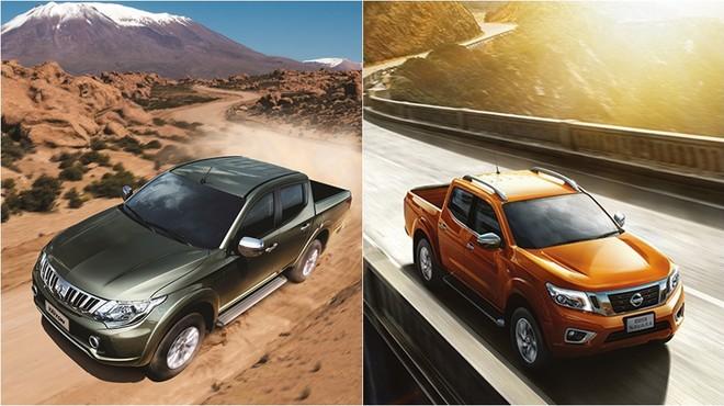 Mitsubishi Triton và Nissan Navara