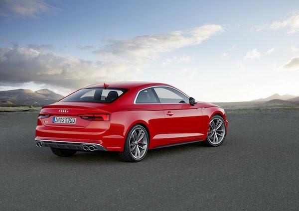 Audi A5 2017: Đổi mới từ trong ra ngoài