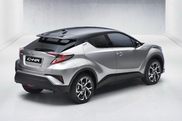 Toyota chốt lịch bán SUV cỡ nhỏ C-HR mới