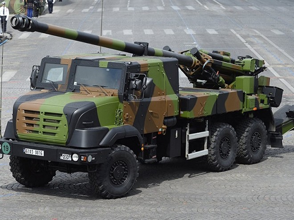 Pháp và Đức sẽ cùng nhau phát triển ra hệ thống lựu pháo hạng nặng mới