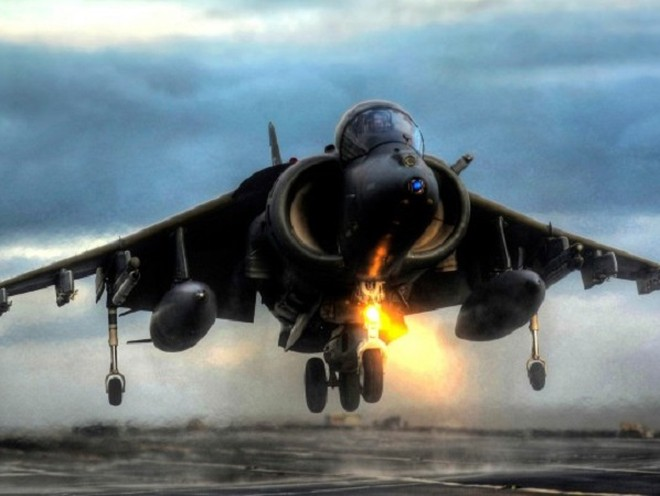 Cường kích AV-8B Harriers