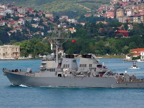 Sự xuất hiện của tàu chiến Mỹ ở biển Đen luôn làm Nga vô cùng quan ngại