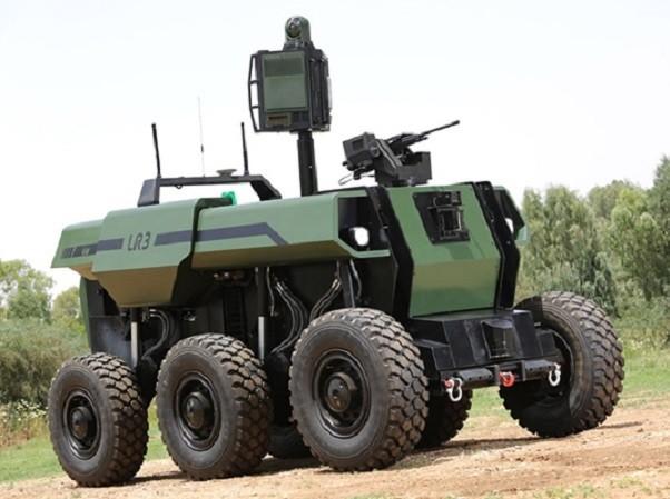 Xe chiến đấu bộ binh không người lái Robattle