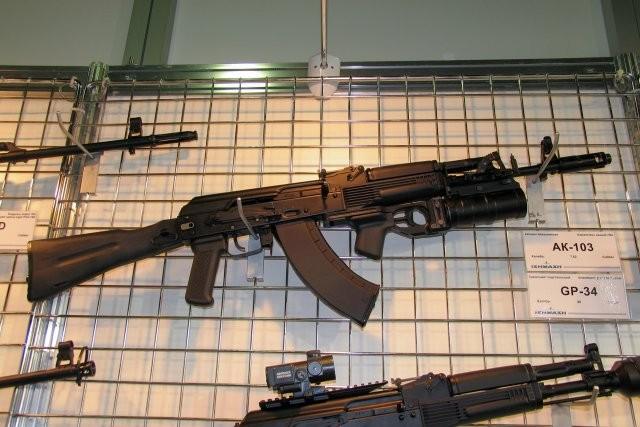Pakistan đang có nhu cầu lớn trong việc mua súng trường AK-103