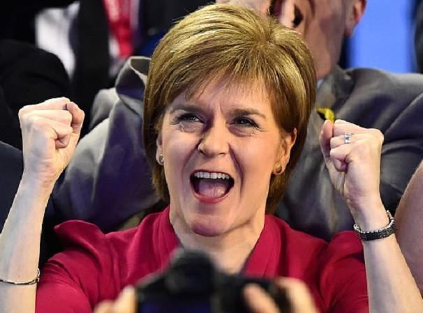 Thủ hiến Scotland Nicola Sturgeon