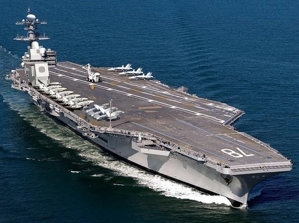 Tàu sân bay USS Gerald Ford