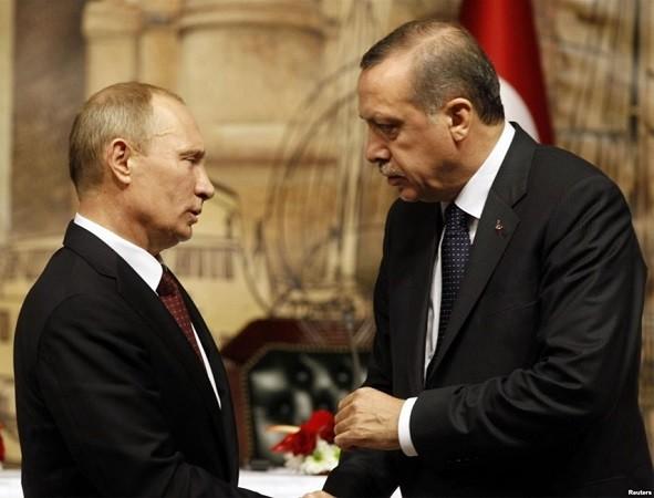 Tổng thống Putin sẽ có lần đối thoại đầu tiên với ông Erdogan sau 8 tháng, vào ngày 29-6