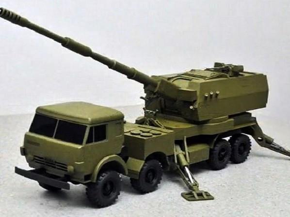 Mô-đun chiến đấu 2S35 Koalitsiya-SV sẽ được đặt trên khung gầm xe tải Kamaz-6560