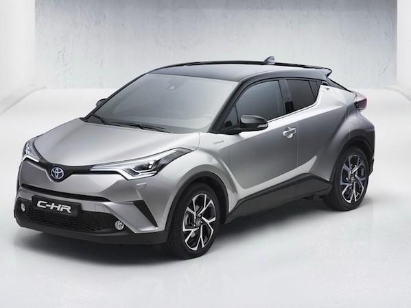 Toyota công bố ảnh nội thất của SUV cỡ nhỏ C-HR mới ảnh 1