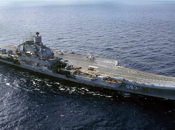 Đô đốc Kuznetsov là tàu sân bay duy nhất của Nga