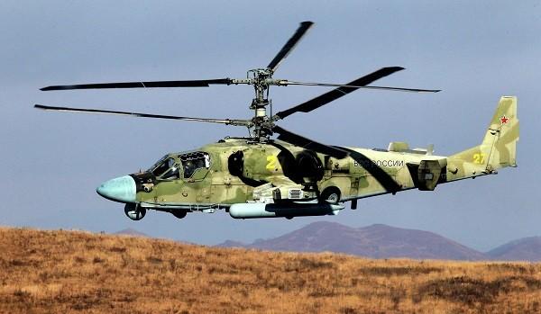 Trực thăng Ka-52K là phiên bản hải quân của trực thăng Ka-52