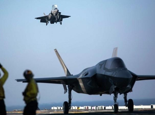 F-35B sẽ được triển khai lên tàu đổ bộ USS America
