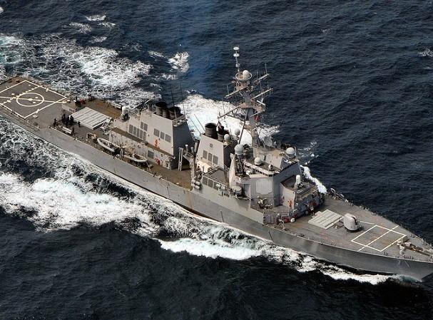 Tàu khu trục hạm USS Ross của Mỹ