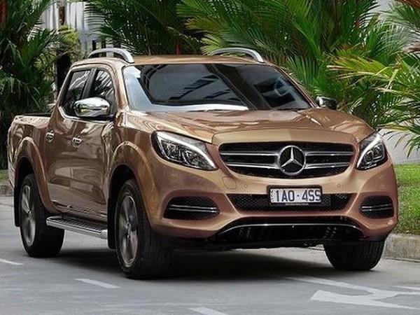 Xe bán tải của Mercedes và Nissan sẽ ra mắt vào năm 2017