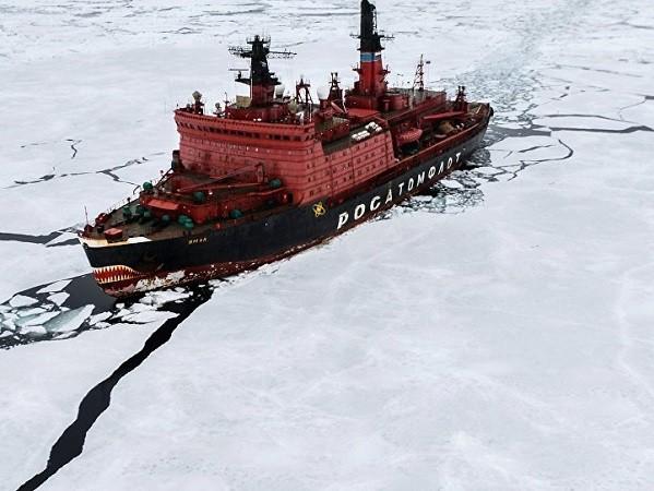 Bắc Cực đang được Nga vô cùng quan tâm
