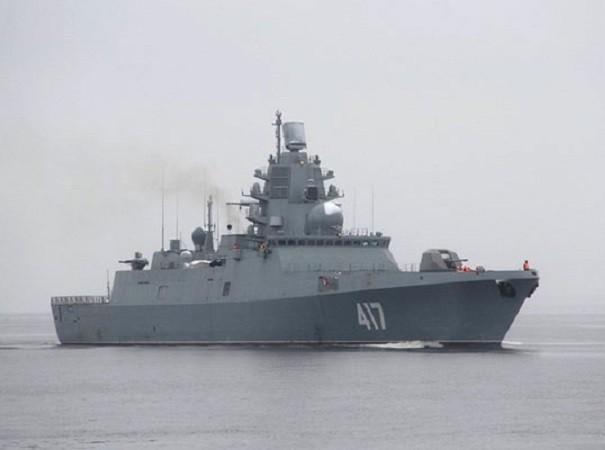 Tàu hộ tống Đô đốc Gorshkov chưa thể gia nhập hải quân Nga vì vấn đề với hệ thống tên lửa Poliment Redut