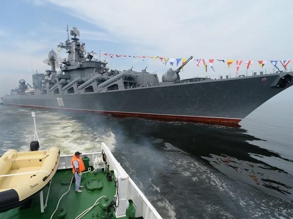 Hải quân Nga đã được thành lập từ năm 1696, đến nay là tròn 320 năm