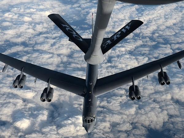 Đã có 3 chiếc B-52 và 2 chiếc B-2 tham gia bài diễn tập