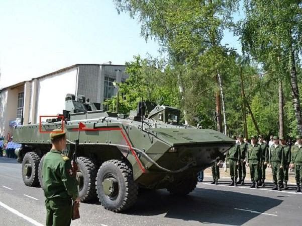Xe bọc thép chở quân Bumerang K-16