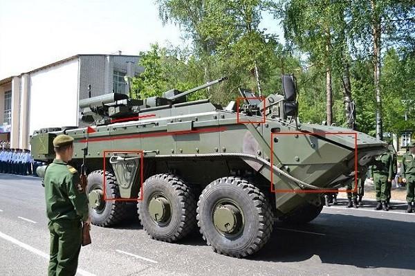 Xe chiến đấu bộ binh Bumerang K-17