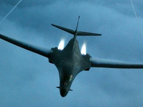 Máy bay B-1B mới được triển khai đến đảo Guam