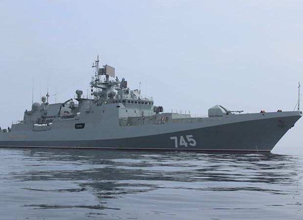 Nga sẽ chỉ sử dụng 3 tàu Đô đốc Grigorrovich