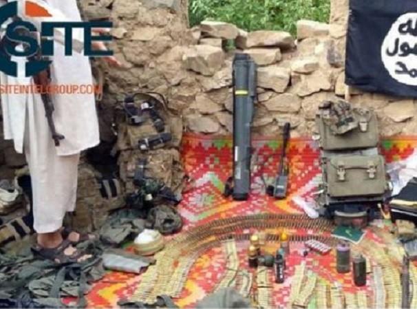 Phiến quân IS đã thu được vũ khí và tư trang của lính Mỹ
