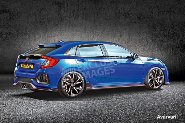 Honda Civic Type R mới sẽ có vẻ ngoài bớt hầm hố hơn