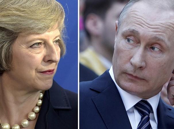 Bà May và ông Putin đều muốn cải thiến quan hệ ngoại giao Anh - Nga